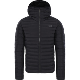 The North Face Stretch Down Hoodie Jacket Men tnf black